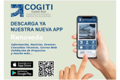App COGITI Ciudad Real renovada.